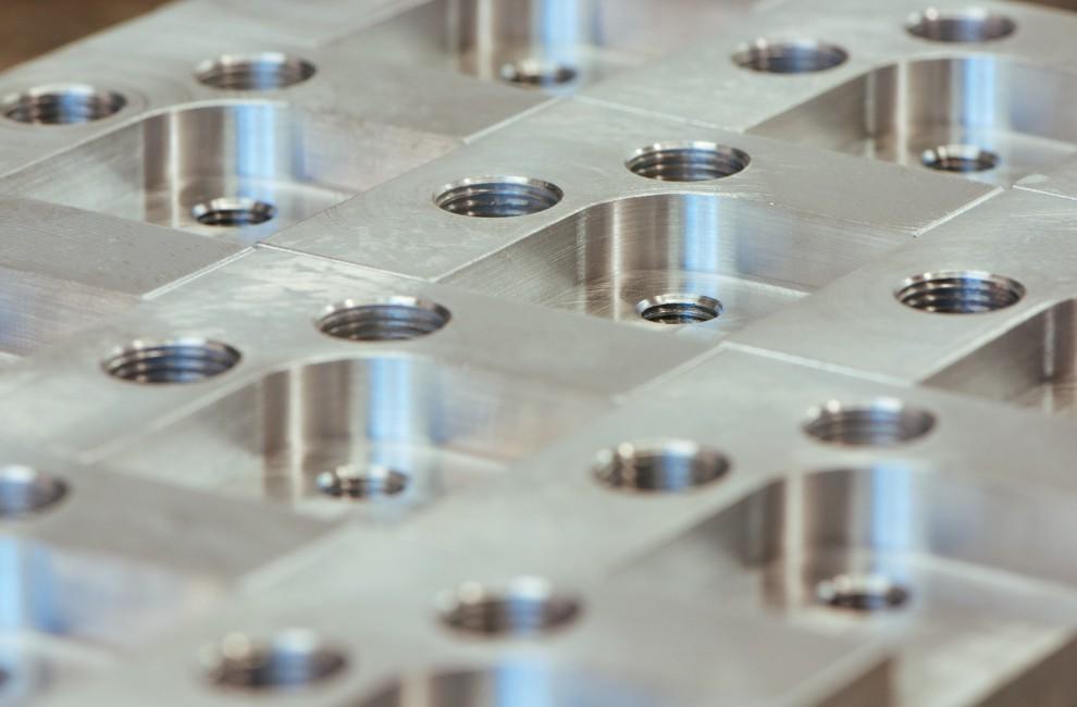 Usinage d'une platine d'indexage  mécanique.